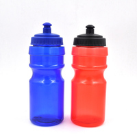 JoyShaker Sport Bottle Water Logo Custom, Easy Squeeze PE Materials 600ml Energy Drink Plastic