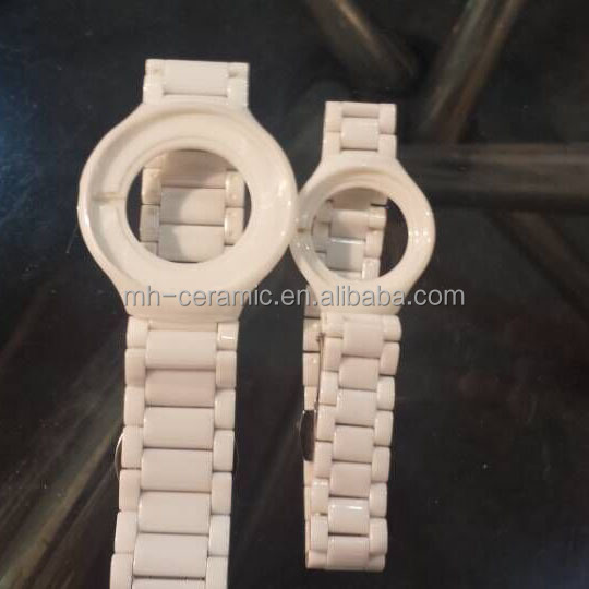 replacement zirconia component ceramic watch band for sale