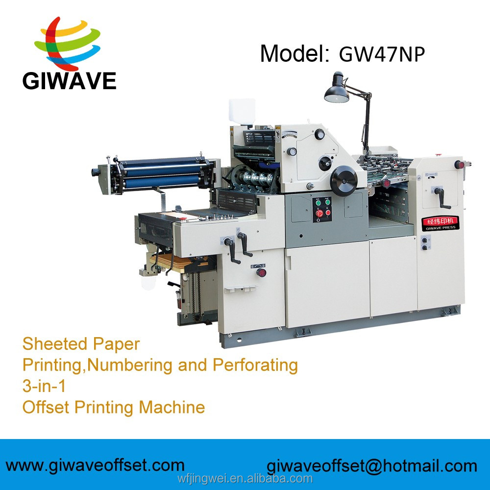 Best price of offset printing machine in weifang