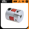 Flexible joint coupling spider jaw rotex shaft coupling