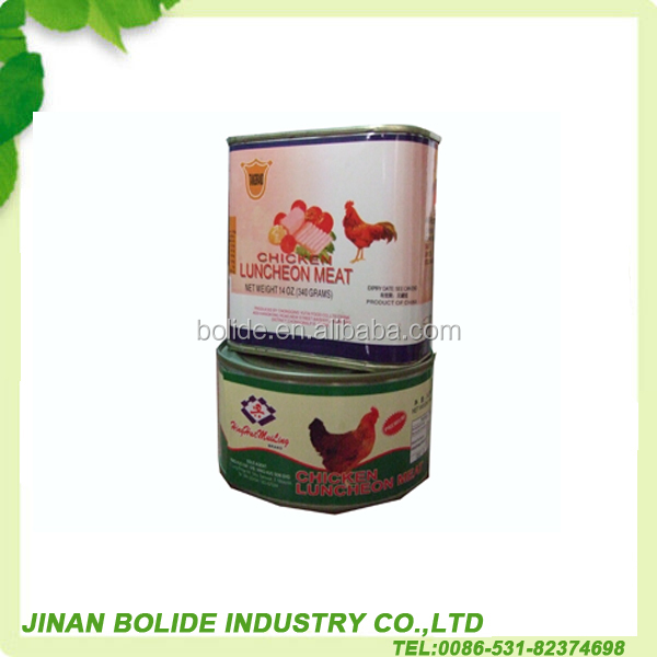 340g halal canned luncheon chicken meat