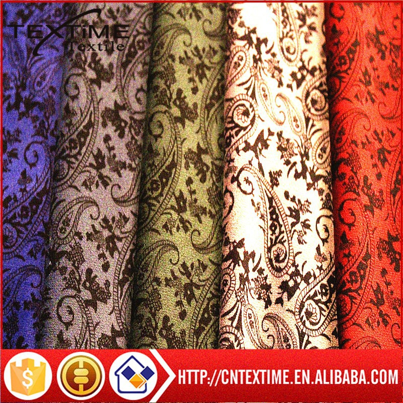 Printed garment fabric