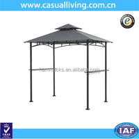 Outdoor Garden Steel Grill Pavilion Gazebo for Camping BBQ