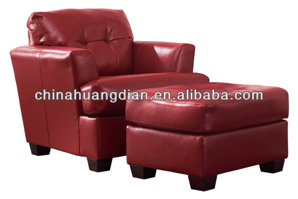 HDL1604 hotel foot massage red leather lounge chairs