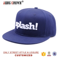hot sale 3d letter snap back cap
