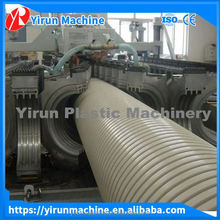 plastic corrugated pipe production line/plastic corrugated pipe extruison line