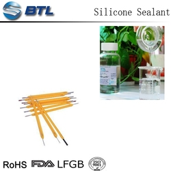 Manufacturing high-temp silicone sealant for led