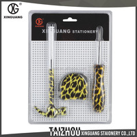 Unique design hammer tape measure and screwdriver 3 pieces gift floral mini garden hand tools for ladies