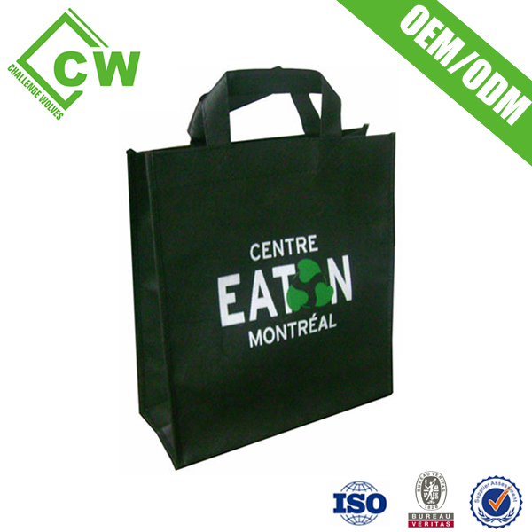 factory hot sales shopping bags made from recycled plastic bottles best quality