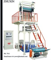 SJ-A65 HD/LDPE plastic film blowing extruder machine