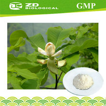 Magnolia Officinalis Bark Extract ,GMP manufacturer,natural herbal muscle relaxants