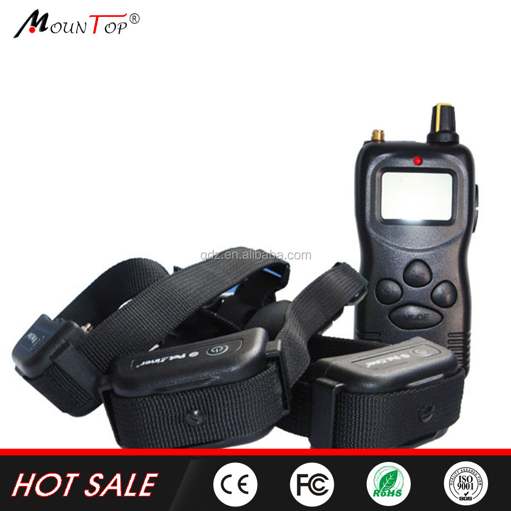 Pet Tamer Multi-Dogs Training System Remote Dog Training Collar 1000M led