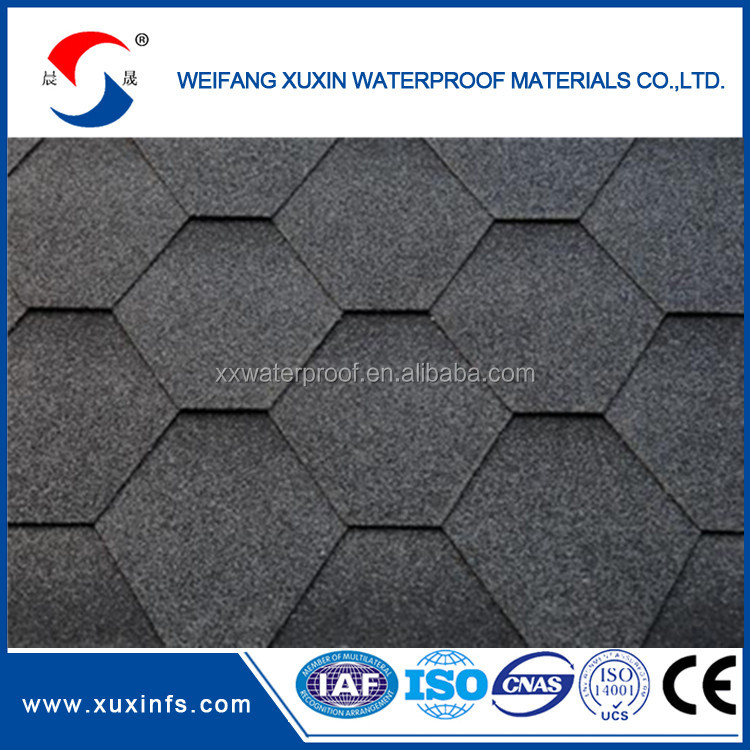 low price and cost for professional asphalt roof shingle tiles