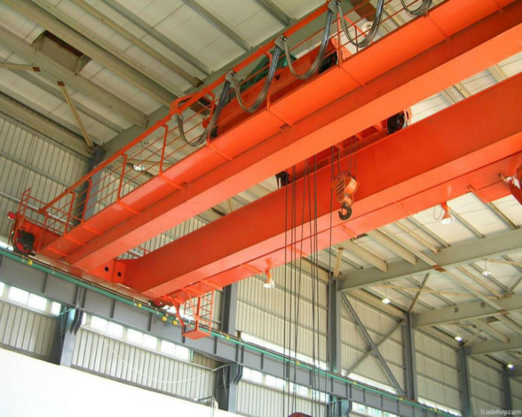 Overhead Crane Electrical Maintenance : High quality electric double girder overhead bridge crane