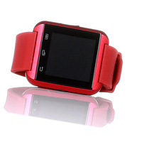 Wholesale led touch screen watches bluetooth smart watch U8 OEM for android and ios ios wrist watch pedometer