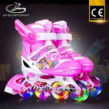 Colorful ABEC-7 Bearing flash wheel Casual Inline Skate For Sale