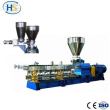 Plastic Feed Pellet Production Water double exturder production Line