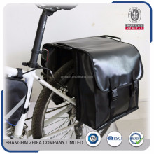 Article No. B4033 popular high quality bicycle bag leather bike leather panniers