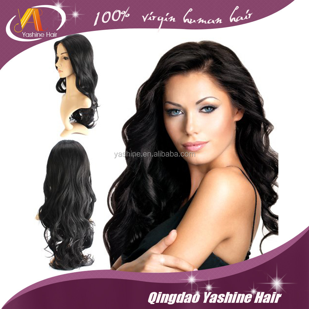 2016 virgin brazilian human hair full lace wig,180% density human hair wigs