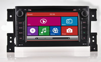 Touch screen car radio gps for suzuki grand vitara