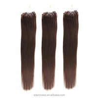 2015 Wholesale Cheap Best Selling Indian Remy Micro Loop Ring Virgin Human Hair Extension