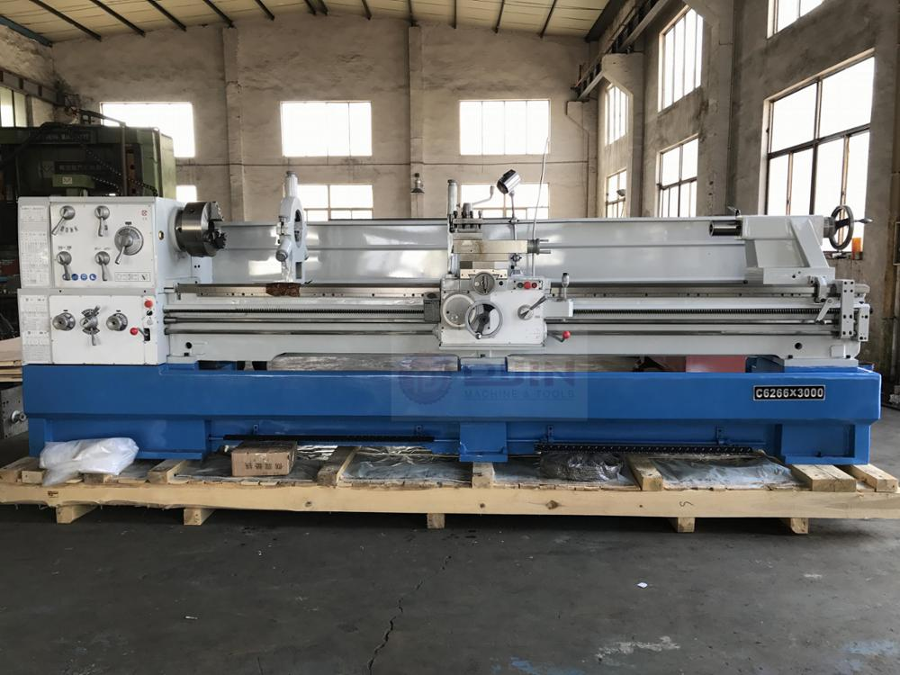 high precision universal heavy duty lathe C6266x3000 metal turning machine /bench lathe /lathe machine tool at a discount