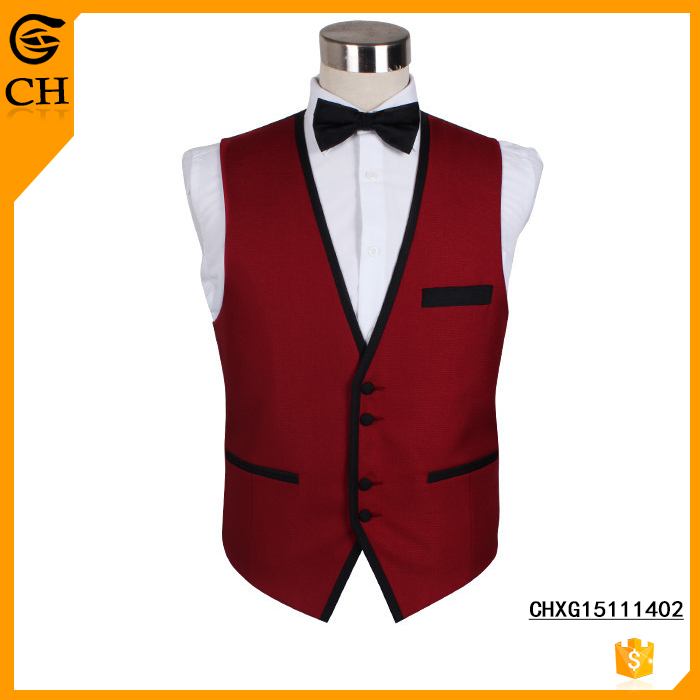 2017 Latest New Men Design Wedding Waistcoat And Vest