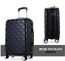 2017 new model 3 pcs luggage travel set bag ABS PC trolley suitcase