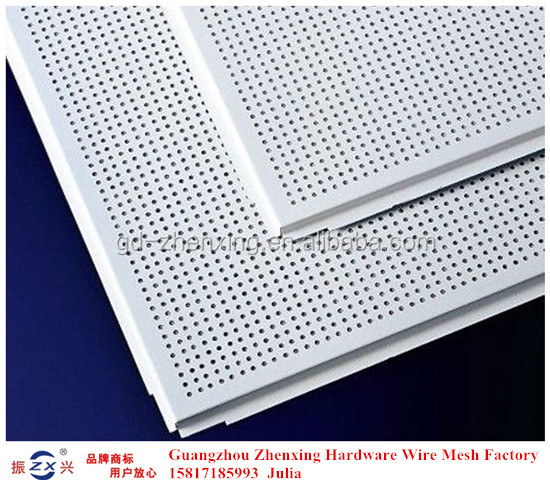 Alibaba supplier directly wholesale perforated aluminum false ceiling ZX-CKW14