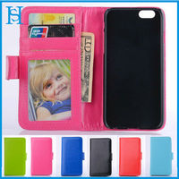 Photo Album leather wallet flip open case for iphone 4/4s accessories