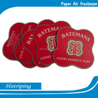 Car air freshener long last strong perfume absorbent paper