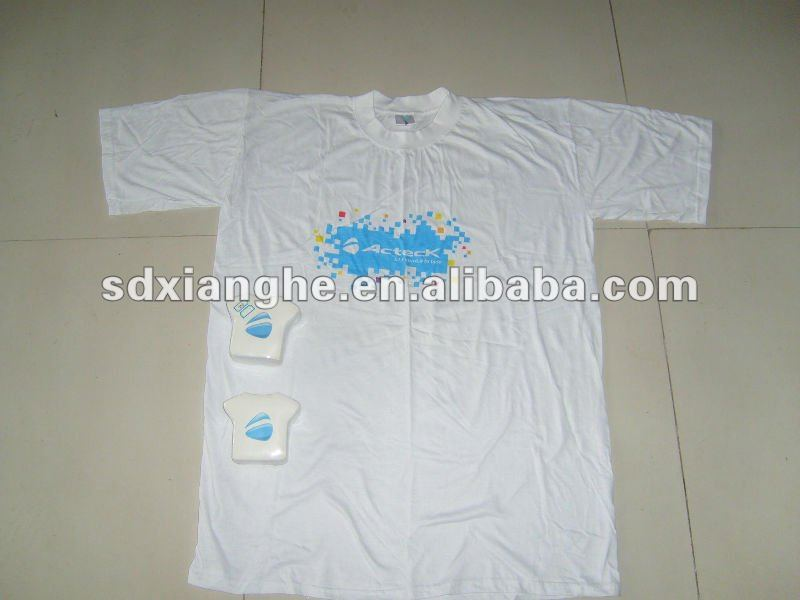 100% Cotton Short Sleeves Compressed T-shirt Promotion Use