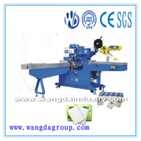 Top Quality And High Speed Full Automatic Handkerchief Tissue Packing Machine With CE Certificate