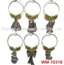 WM-10319 Factory Popular special design party wine charm cup identifier with good price