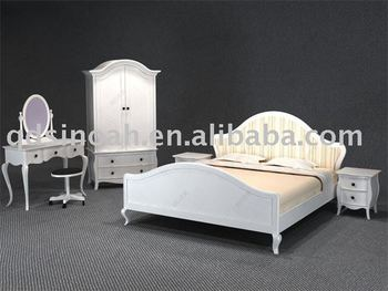 French Style Wooden Bedroom Furniture White Funiture Buy Wooden