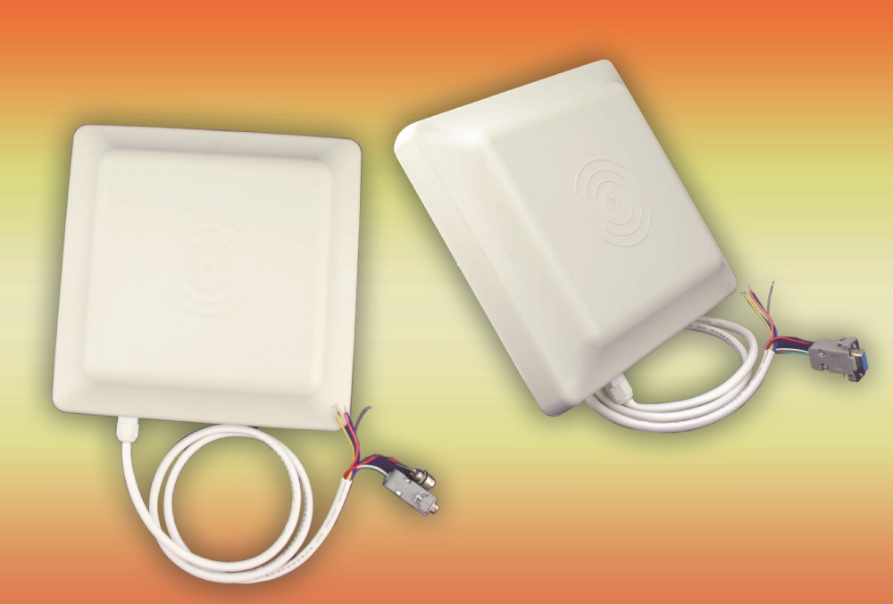 1m middle range rfid reader for access control systems , reading range adjustable by software, accept paypal payment