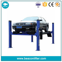 Best quality stylish launch tlt440w wheel alignment 4 post car lift