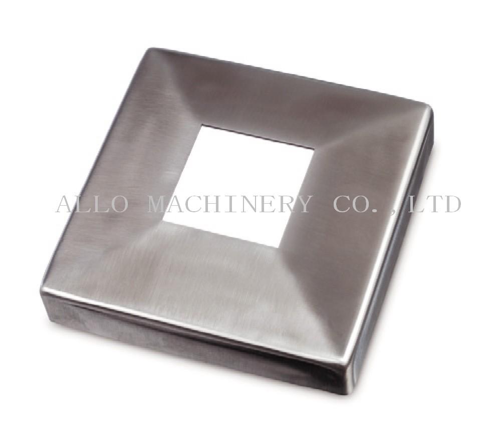 Stainless Steel Square Post/baluster Base Cover