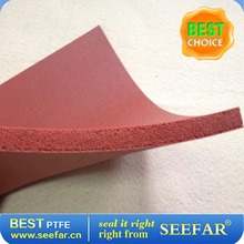 Customized Colored silicone rubber foam sheet