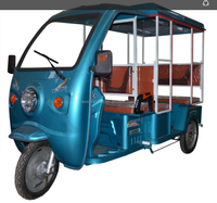 Electric 3 wheel Factory Supply India Taxi Electric Riskshaw