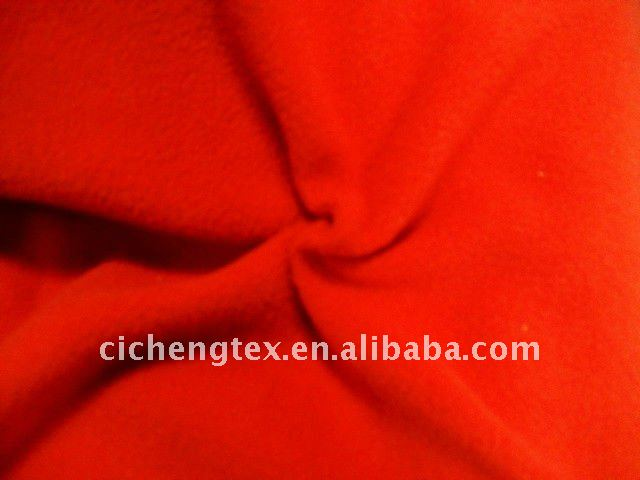 100%polyester polar fleece fabric, DTY,solid dyed, print, brushed,soft,thick polar fleece fabric