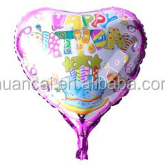 2016 Hot sale heart shape colorful i love you foil balloons for wedding