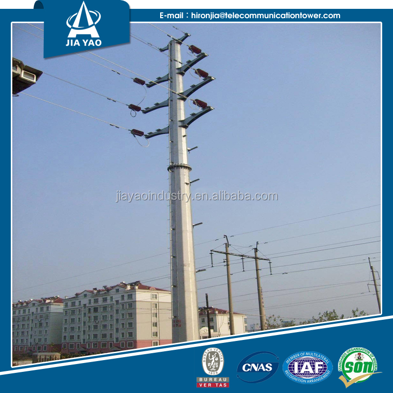 Long lifetime top quality electric pole