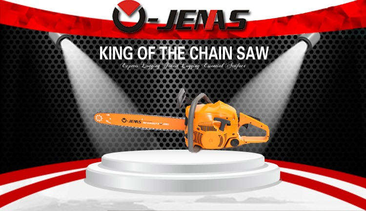 hot sale CE certified 5800 58cc tree cutting machine electric chain saw
