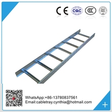 Hot dip galvanized ladder type cable tray Galvanized steel cable ladders