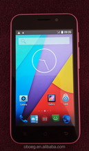 4inch Dual Core MTK 6580 Android Dual SIM 3G Unlocked cell phone with 8GB ROM