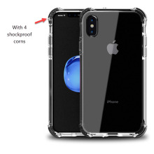 wholesale transparent TPU soft clear phone case for iphone x 10 blank case