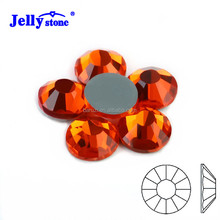 High Quality SS10 Hyacinth Round Glass Hotfix Flat Back Rhinestone for 3D Nail Art Designs!