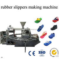 Rubber Plastic Slippers Making Machine For