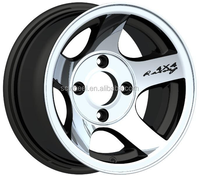13-inch alloy wheel for car replica new design 4x4 racin made in China